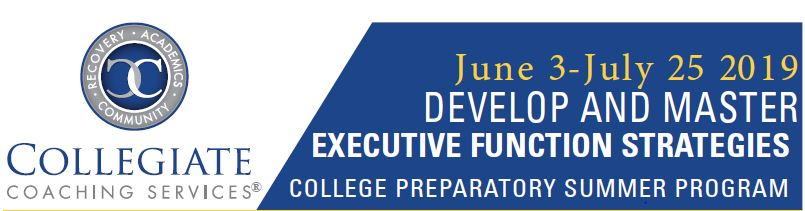 Develop and Master Executive Function Strategies-Summer 2019